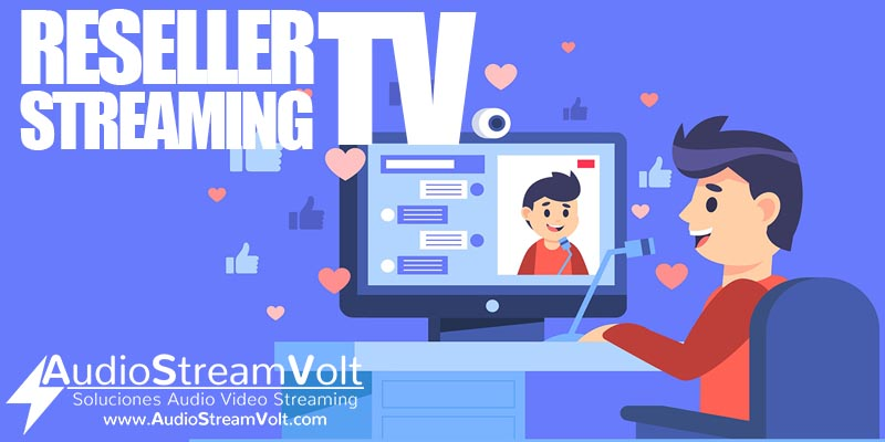 reseller streaming tv económico